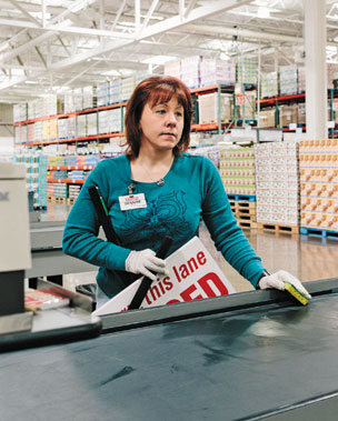 Dennise McDonald, 13 years at Costco