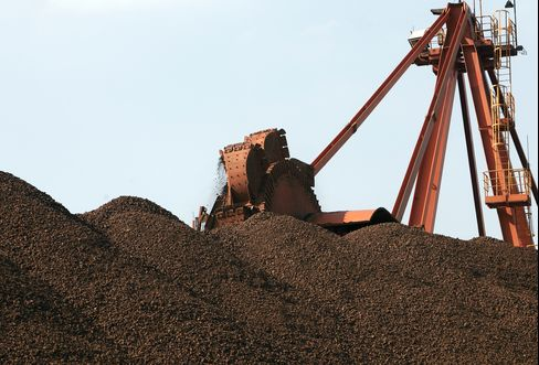 Consumption of Iron Ore