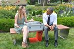 Boston S Solar Powered Benches Will Charge Phones And