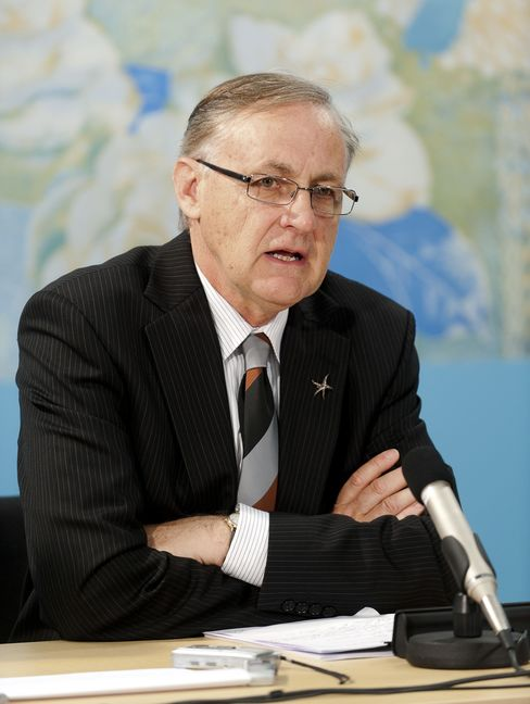 Reserve Bank of New Zealand Governor Alan Bollard
