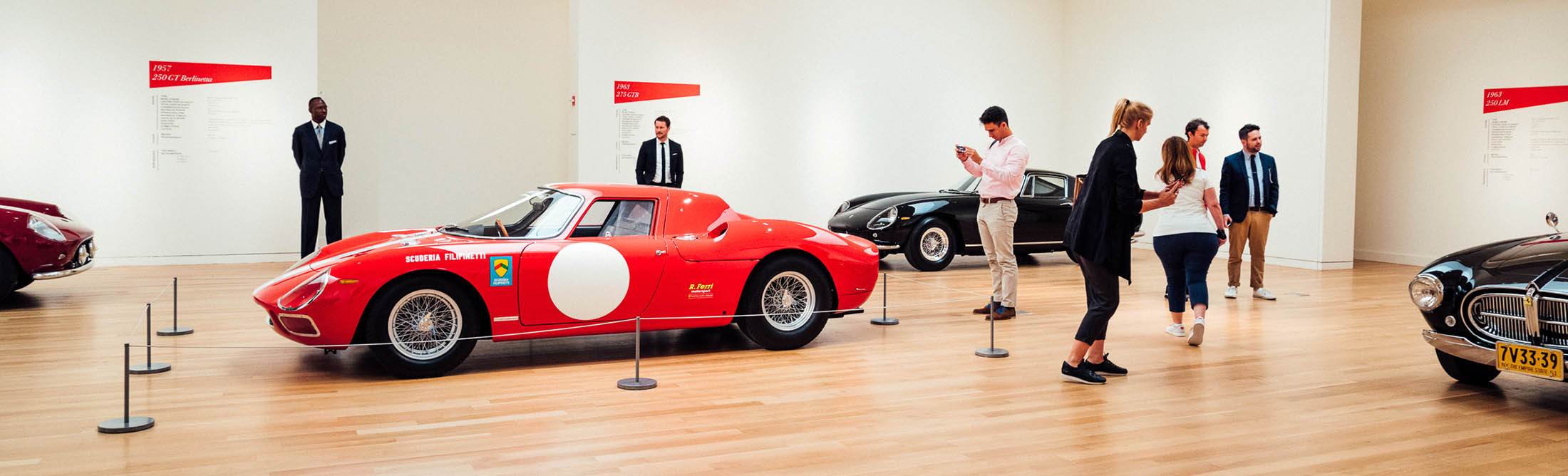 The Most Beautiful Ferraris Ever Made Are Coming to New York