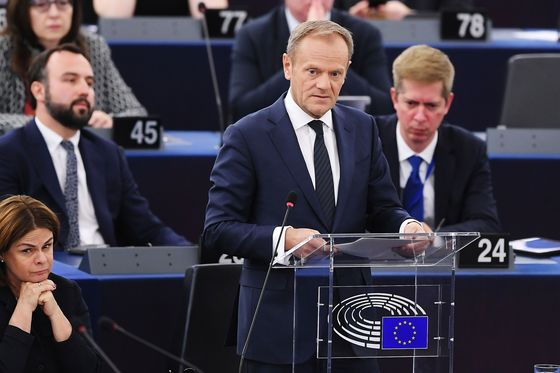 Everyone Is 'Exhausted' by Brexit, EU's Tusk Says