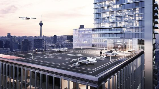 Former GM Executive's SPAC Acquires Air-Taxi Startup Lilium