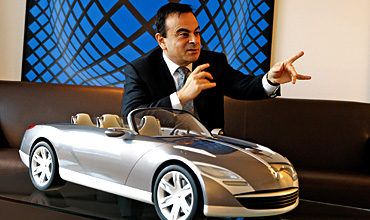 Ghosn Hits the Accelerator