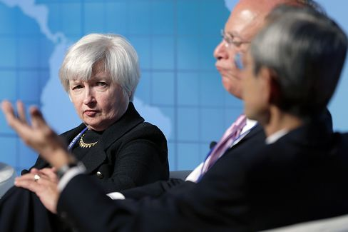 Yellen's Unemployment Focus Adopted by Bernanke Fed After Crisis