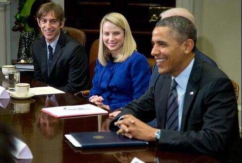 Yahoo's Mayer Said to Warn of Internet Balkanization Over Spying