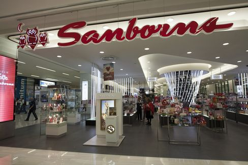 Customers browse Perfume inside a Grupo Sanborns Store