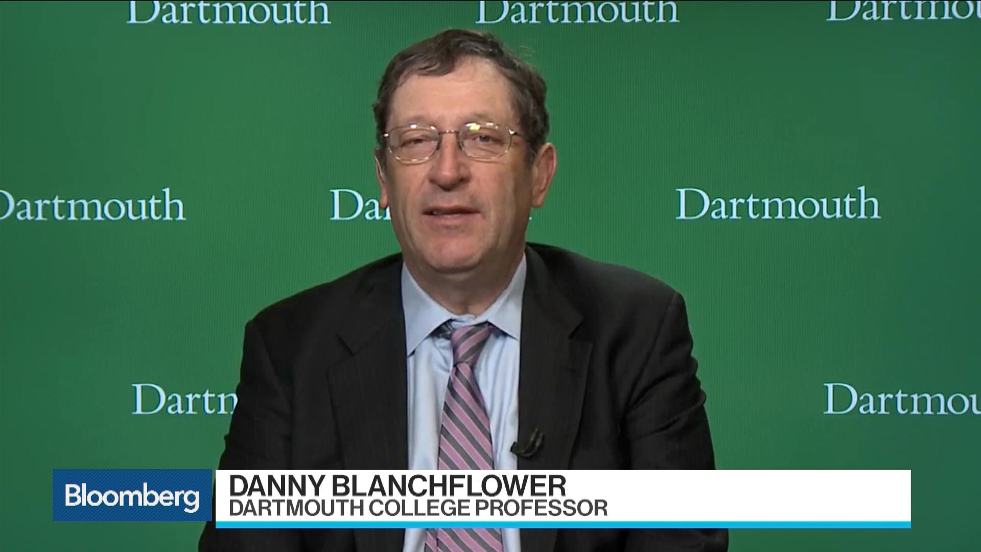 Danny Blanchflower on Brexit Trade Deal Difficulties – Bloomberg