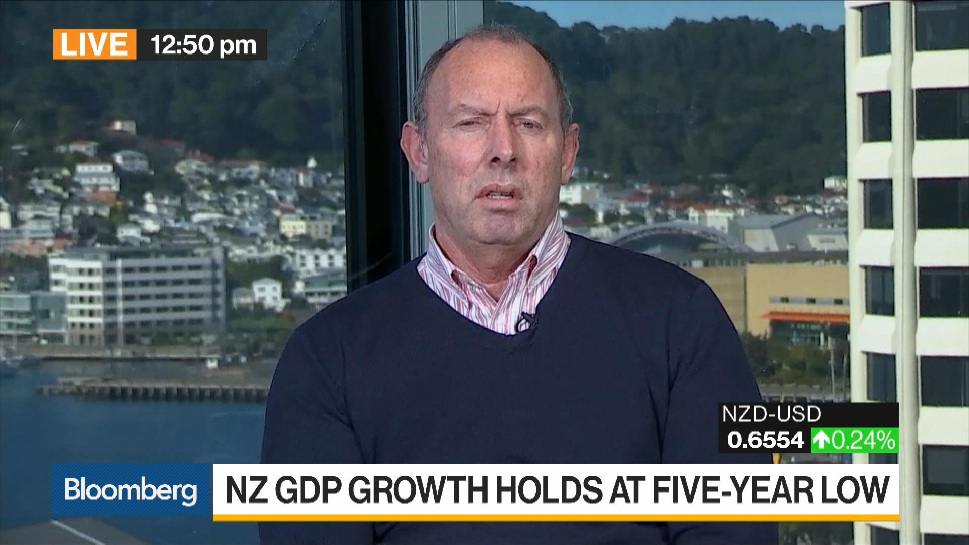 New Zealand's Economic Growth Rate Held at 5-Year Low in 1Q