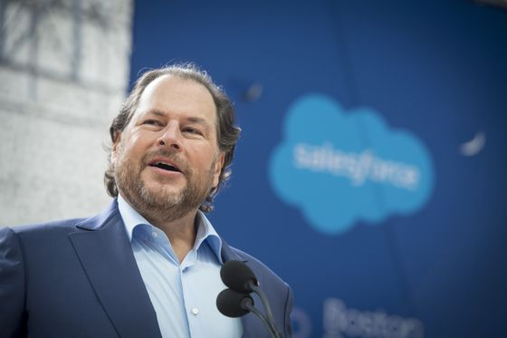 Marc Benioff Joins Wealthy Clique Buying Magazines in Daunting Times