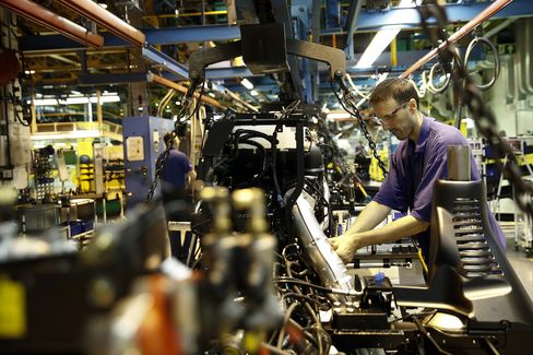 U.K. Manufacturing Cools to Slowest Pace in a Year After Boom
