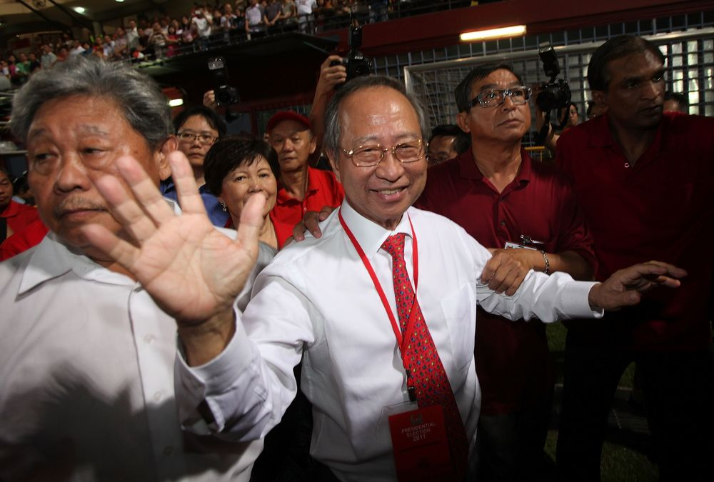 Singapore's Tan Says Plan for New Party Approved In Principle