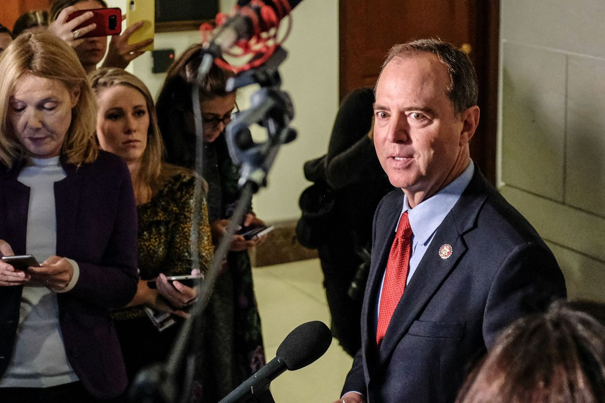 Schiff Says Secret Testimony Aimed at Keeping Trump in the Dark