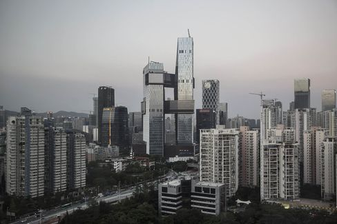 A view of Tencent's future headquarters.
