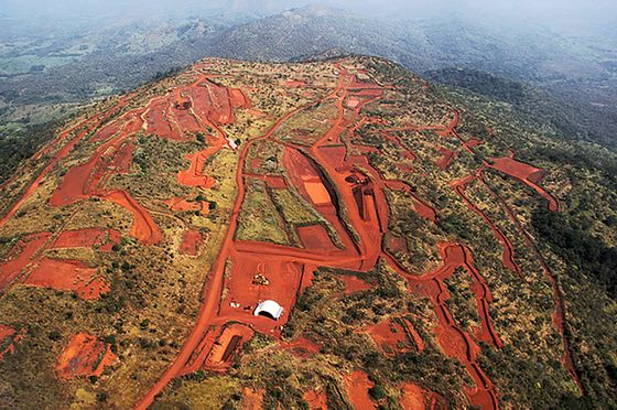The Race Is On for Iron Ore Riches Buried Under an African Jungle