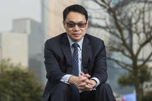Will Cai, founder of Initium Media, sits for a photograph in Hong Kong. He started the Internet news site with plans to expand into video and movies.