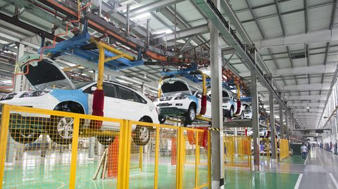 Inside BYD Co.'s Vehicle Assembly Plant and Headquarters