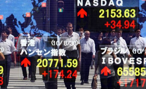 Asian Stocks Rise as U.S. Jobs Report Eases Growth Concerns