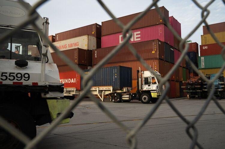 Cargo Ships Anchor Off California's Coast With Nowhere To Unload