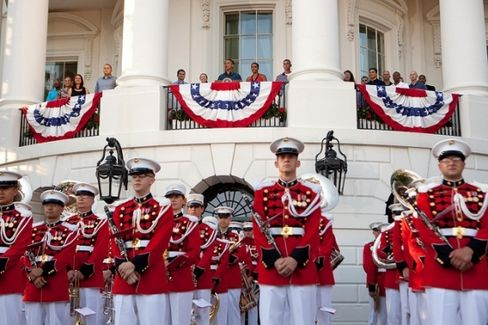 4th of July Festivities Outside White House