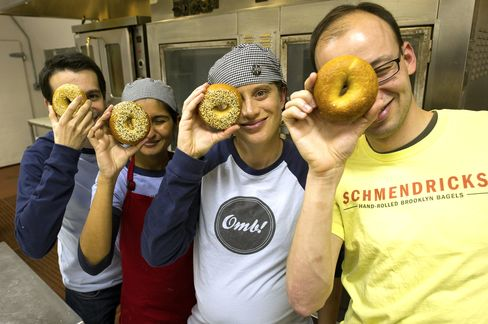 Bagel Boutique Rises in Bay Area Using Tech Startup Playbook