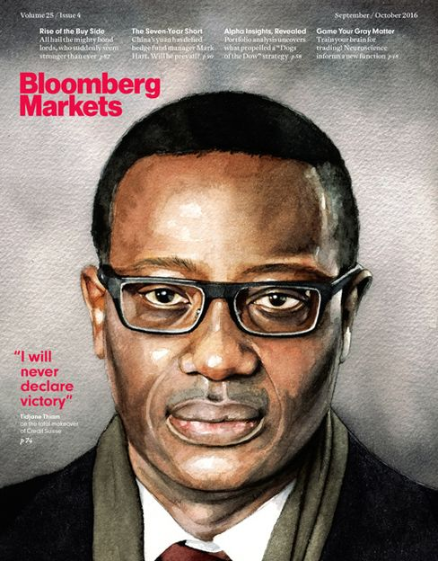 This story appears in the September/October issueof Bloomberg Markets.