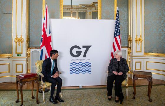 Historic Global Tax Deal Nears as G-7 Seeks Agreement on Tech