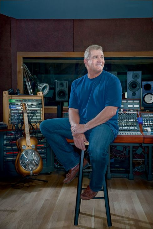 Indulging his love of music, Kelcy Warren owns a studio in Austin and a record label.