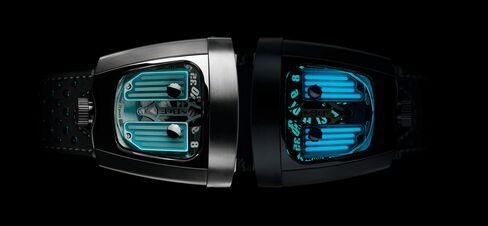 MB&F HMX Black Badger