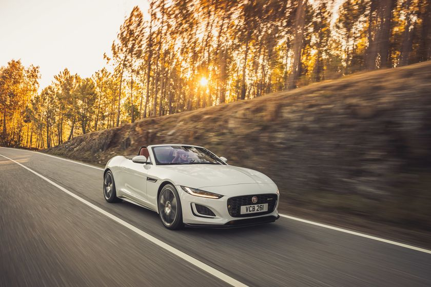 relates to Jaguar's F-Type Needs a Big Refresh. The 2021 Update Falls Short