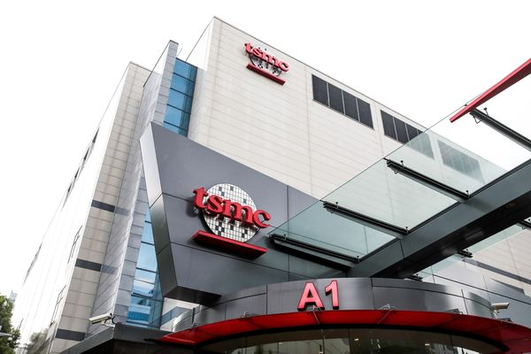 TSMC Headquarters as Company Pares Gains After $72 Billion Surge to Start the Week