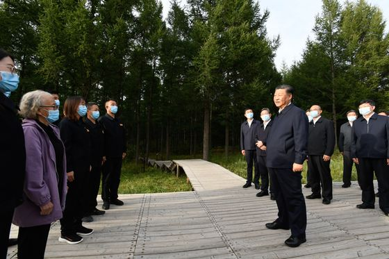 Xi Visits Elder-Care Facility Amid Drive for 'Common Prosperity'