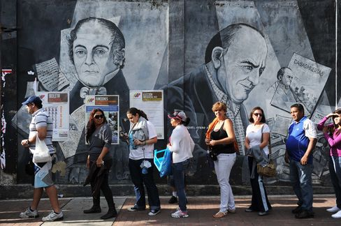 Venezuelans to Determine Chavez's Fate in Closest Election Yet