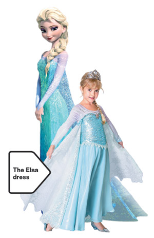 Elsa's Frozen Dress: The Hottest Gown in Town