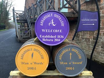 Annandale is making two whiskies, one named after poet Robert Burns and one after warrior Robert the Bruce.