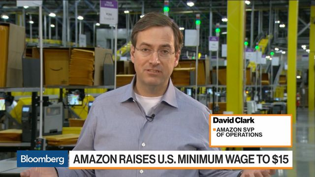Amazon Flex Workers Are Left Out of Minimum Pay Raises - Bloomberg