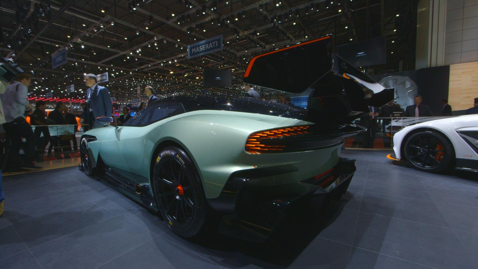 The Aston Martin Vulcan Showcases The Brand S Dark Arts Bloomberg