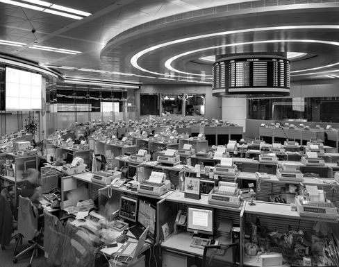 Hong Kong Exchanges & Clearing trading floor, May 2016.