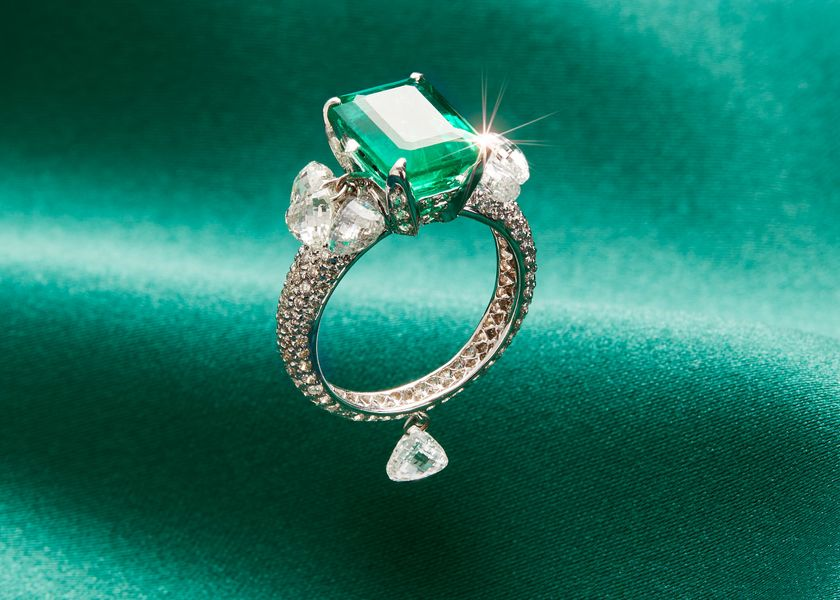 relates to When a $17,500 Emerald Ring Becomes Casual Wear