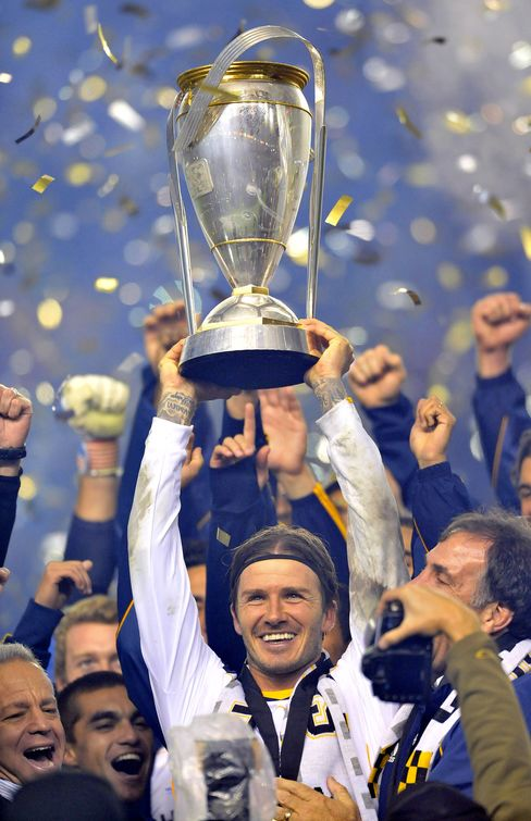 Beckham's L.A. Galaxy Wins MLS Title With Win Over Houston