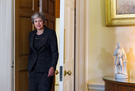 How No-Deal Brexit Chatter Could Be Helping U.K.'s Theresa May