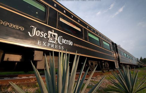 The Jose Cuervo Express.