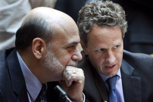 Money Funds Test Geithner, Bernanke As Schapiro Defeated
