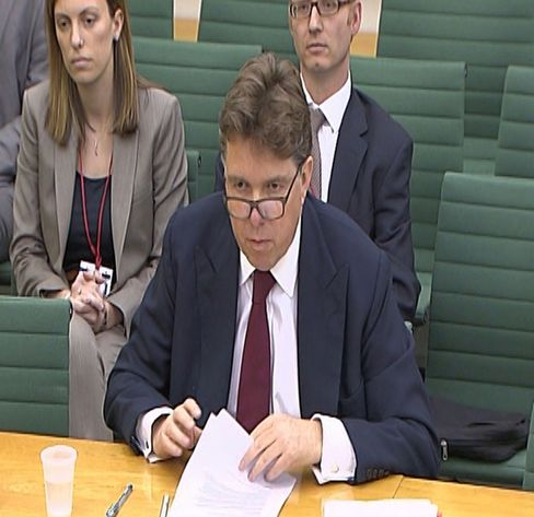 Bank of England Deputy Governor Paul Tucker