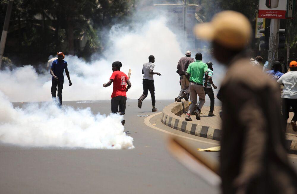 Kenyan Opposition Begins Protests Over Election Impasse - Bloomberg
