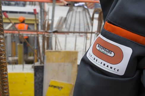 Bouygues SA Construction Work At New Paris Law Courts