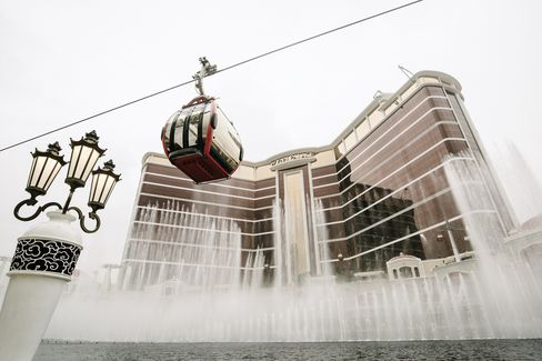 The Wynn Palace casino resort.