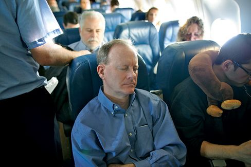 Super Commuters Take the Morning Plane