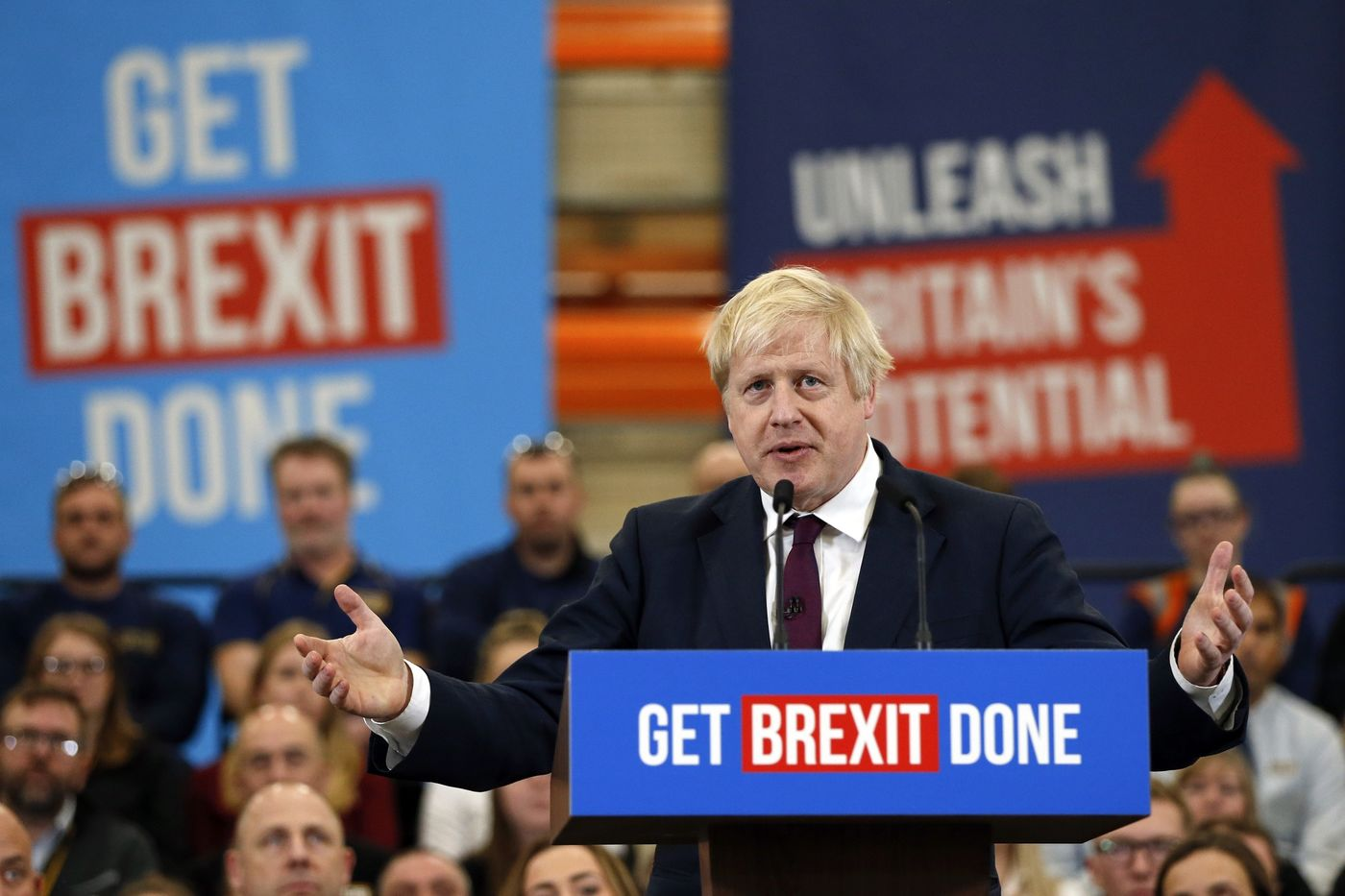 U.K. Prime Minister Boris Johnson Campaigns Ahead Of General Election