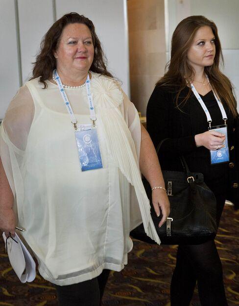 Gina Rinehart and Ginia Rinehart